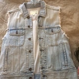 Rag & Bone Jean Vest